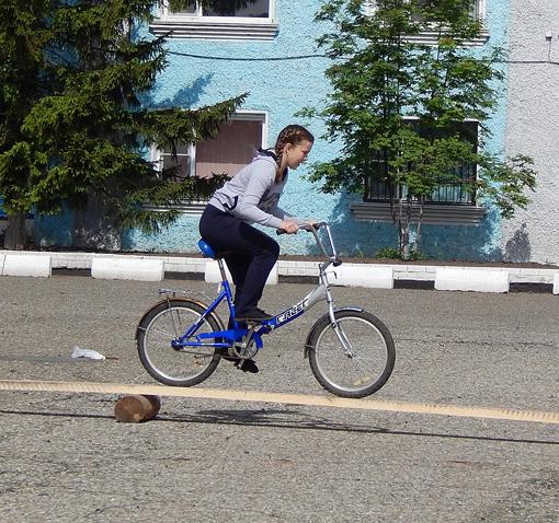 Сценарии спортивных праздников с велосипедом